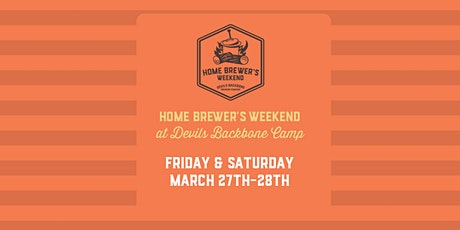 Home Brewer's Weekend at Devils Backbone Camp tickets