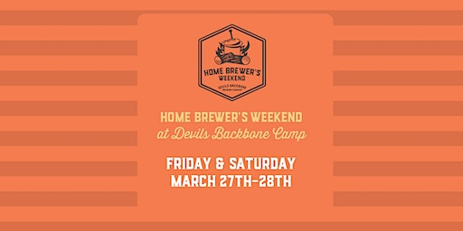 Home Brewer's Weekend at Devils Backbone Camp