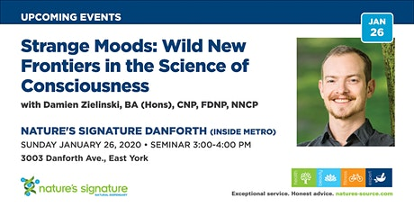 Strange Moods: Wild New Frontiers in the Science of Consciousness tickets