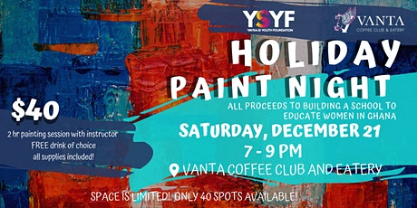 Holiday Paint Night: First Snowfall tickets