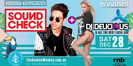 Woodies ft Soundcheck + Dj Delicious tickets