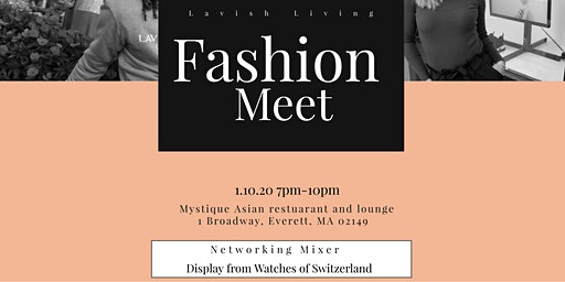 Fashion Meet: Networking mixer
