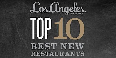 Los Angeles magazine's Best New Restaurants Celebration 2020 tickets