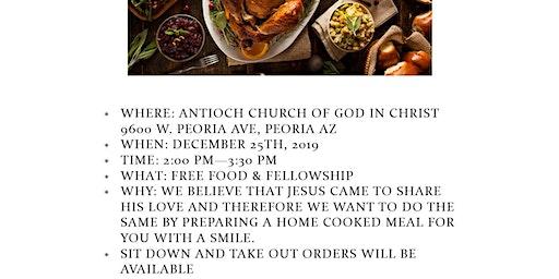 Free Community Christmas Dinners