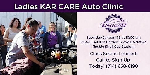 Ladies KAR Care Auto Clinic