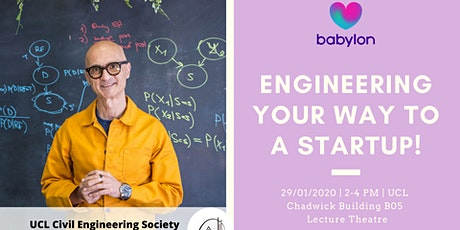Engineering Your Way to a Startup tickets