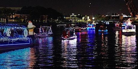 Tampa Riverwalk Holiday Night Lights & Boat Parade Walkabout tickets