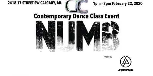 Numb -Contemporary Dance Class Event