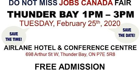 Thunder Bay Job Fair - February 25th, 2020 tickets