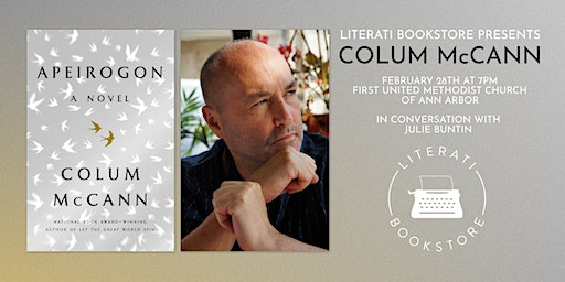 Literati Bookstore Presents Colum McCann