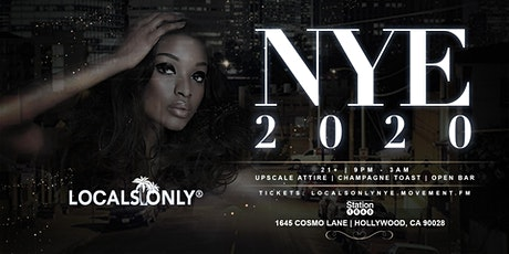 Locals Only NYE 2020 tickets