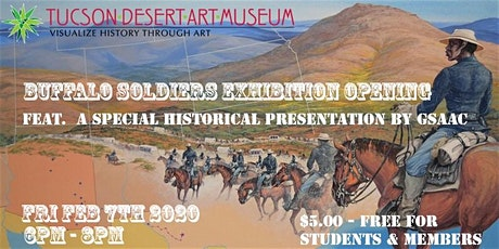 Buffalo Soldiers Exhibition Opening tickets