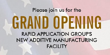 Rapid Application Group New Facility Grand Opening