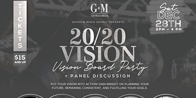 20/20 Clear Vision | Vision Board Party and Panel