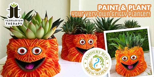 SOLD OUT- Gritty Succulent Planter Workshop at Tannery Run Brew Works