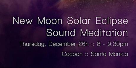 New Moon / Solar Eclipse Sound Bath tickets