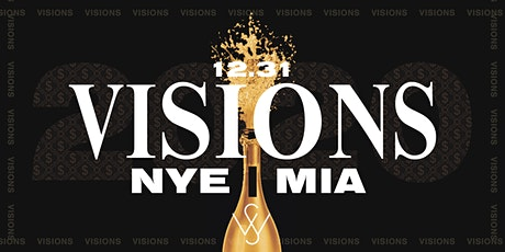 VISIONS | MIAMI NEW YEARS EVE  {OPEN BAR TILL 12}  @ WOODSIDE tickets