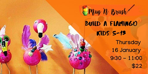 Build a Flamboyant Flamingo!