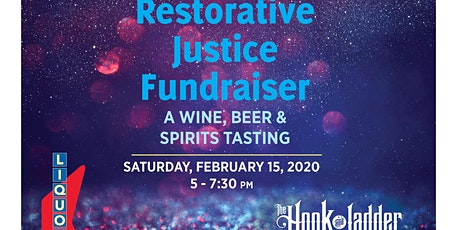 Restorative Justice Fundraiser: A wine, beer, and spirits tasting tickets