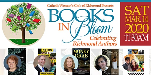 CWC Presents Books in Bloom: Celebrating Richmond Authors