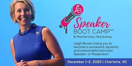 Leigh Brown: Instructor's Boot Camp & Masterclass December 2020 tickets