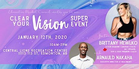 Clear Your VISION Super Event tickets