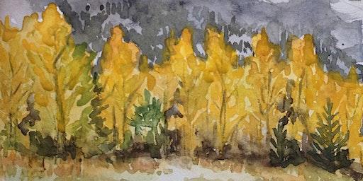 Watercolour Landscape Sketching