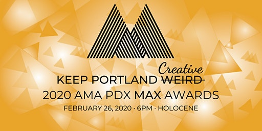 AMA PDX 2020 Marketing Excellence Awards