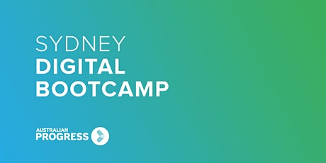 Sydney Digital Bootcamp 2020 tickets