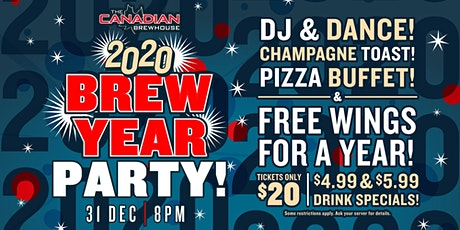 2020 Happy Brew Year Party (Downtown Edmonton) tickets