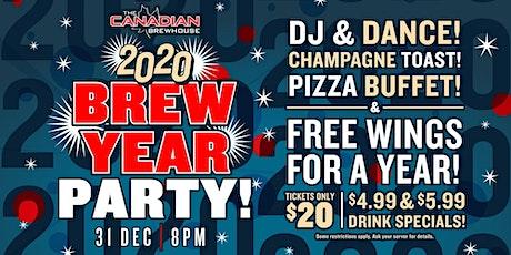 2020 Happy Brew Year Party (North Edmonton) tickets