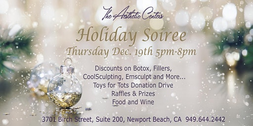 Holiday Soiree - The Aesthetic Centers with Dr. Siamak Agha and Dr. Angela Champion