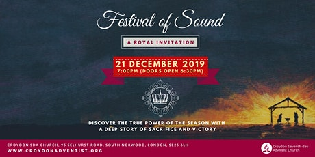 Croydon Festival of Sound tickets