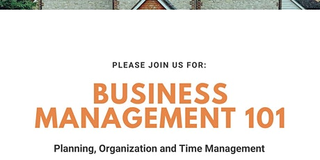 Business Management 101 tickets