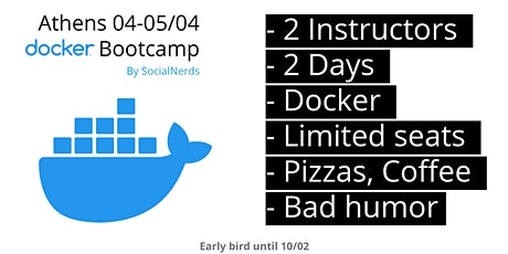 Docker Bootcamp - SocialNerds tickets