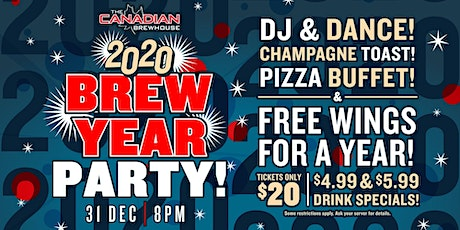 2020 Happy Brew Year Party (Red Deer) tickets