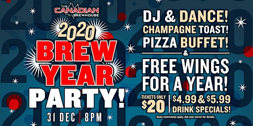 2020 Happy Brew Year Party (Red Deer)