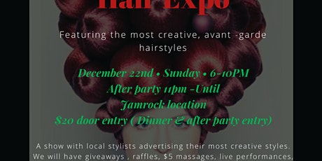 Winter Wonder Hair Expo & After Party tickets