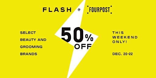 FLASH SALE + GIVEAWAY: 50% Off Select Beauty and Grooming