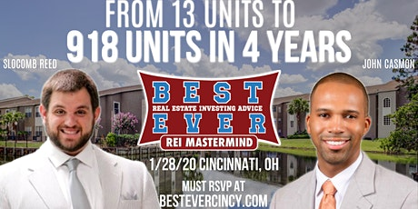 From 13 Units To 918 Units In 4 Years  | Cincinnati's Best Ever Mastermind tickets