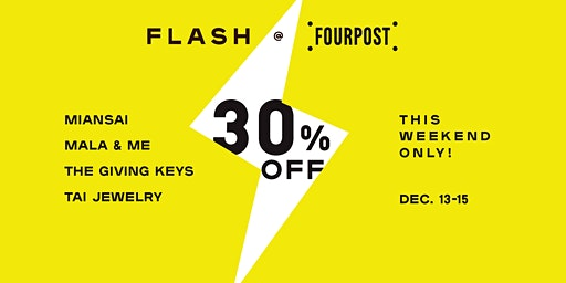 FLASH SALE + GIVEAWAY: 30% Off Jewelry