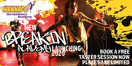 NEW BREAKIN ACADEMY LAUNCHING 2020 WITH BBOY SASHA tickets