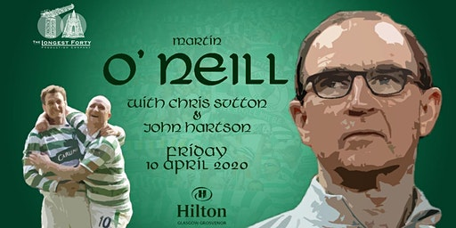 An Evening with Martin O'Neill