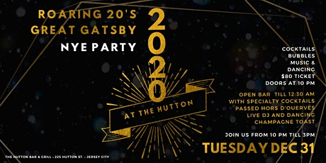 New Year's Eve at The Hutton tickets