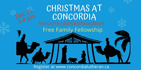 Free Christmas Dinner at Concordia tickets