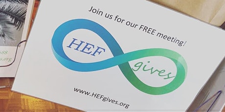 Create healthy habits, not restrictions. HEF's Free Monthly Meeting! tickets