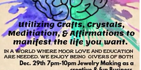 Cultivating the Brain w/ Jewelry Making on Ujamaa