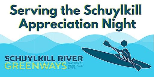 Serving the Schuylkill Appreciation Night