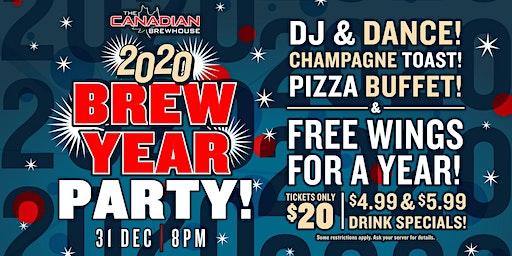 2020 Happy Brew Year Party (Calgary Mahogany)