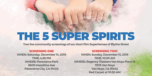 "Michael's Daughter Project Presents ""5 Super Spirits"""